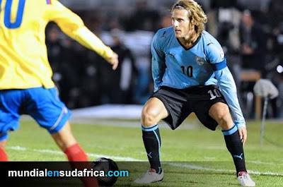 Entrevista con Diego Forlán, delantero de Uruguay