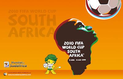 Descargar Fondos de Pantalla (Wallpapers) Mundial 2010 de Sudáfrica - World Cup 2010 Football Wallpaper