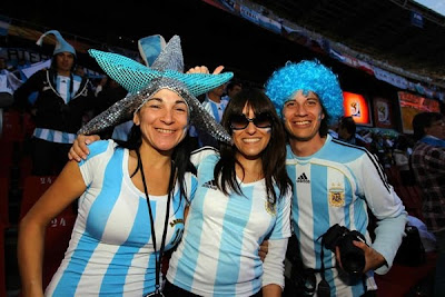 Fotos Argentina Nigeria, Messi incontrolable, hinchas alegres y vibrantes