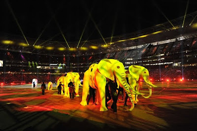 Fotos Ceremonia de Clausura Shakira Mundial 2010