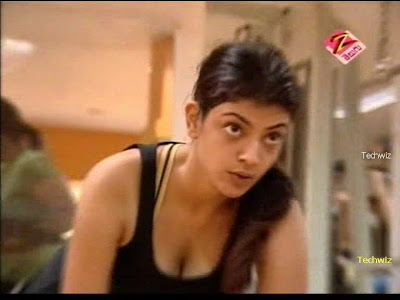 Download Hot & Sexy Kajal's Video While Working Out In a Gym