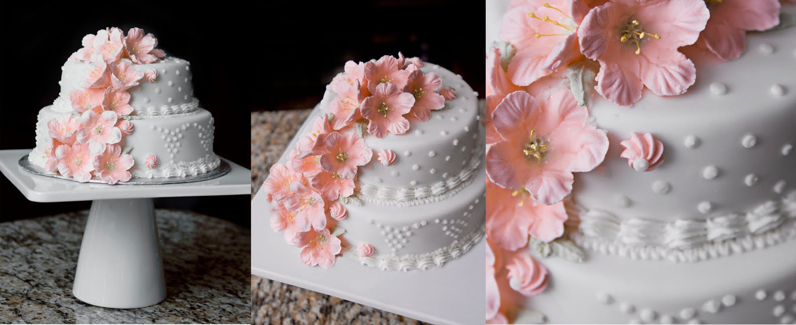 Cake With Royal Icing Flowers : Cakes by L.E.: Gallery