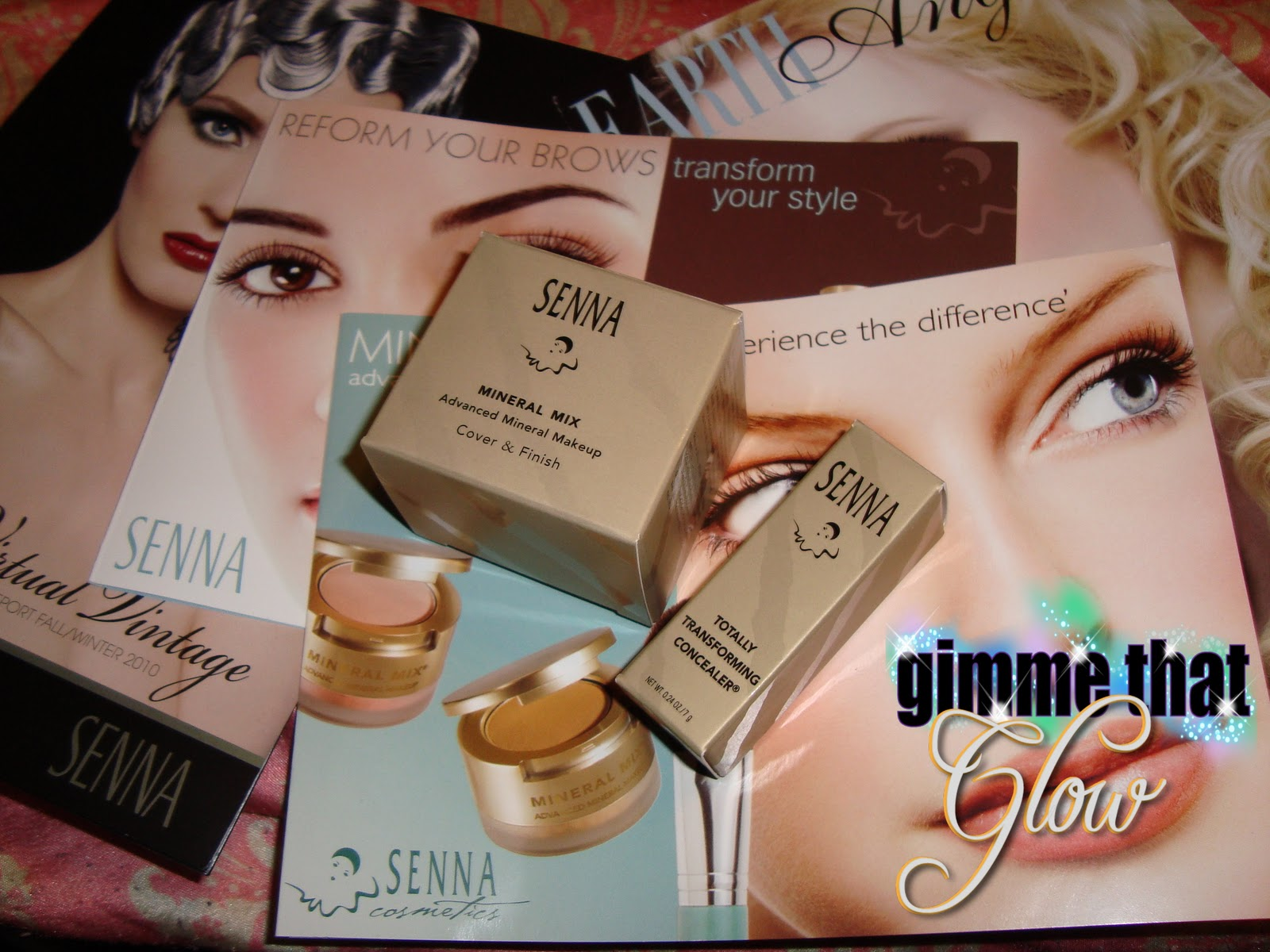Senna Cosmetics Mineral Mix Totally Transforming Concealer