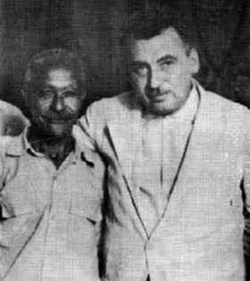 Mestre Pastinha e Jorge Amado