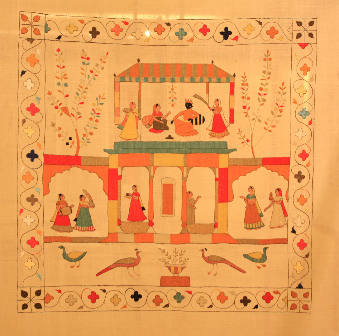 Pure Ghee Designs  Stories On A Napkin  Chamba Rumal