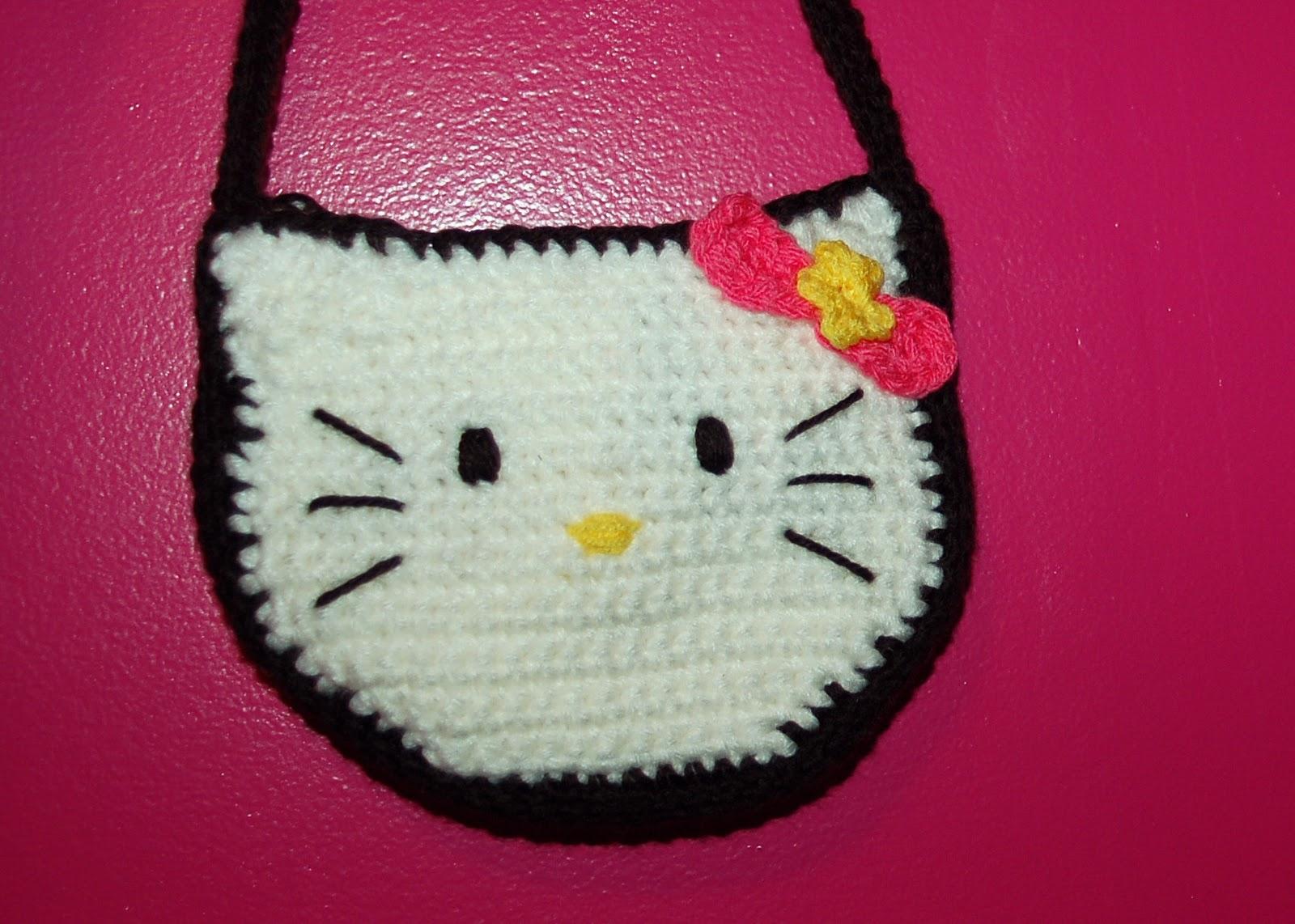 Hello Kitty Dishcloth Knitting Pattern : amiable knitting: Hello Kitty