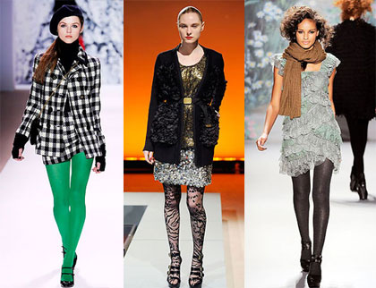 patterned tights outfits. Patterned Tights