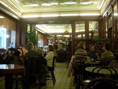 Tallinn Old Town, Estonia cafe