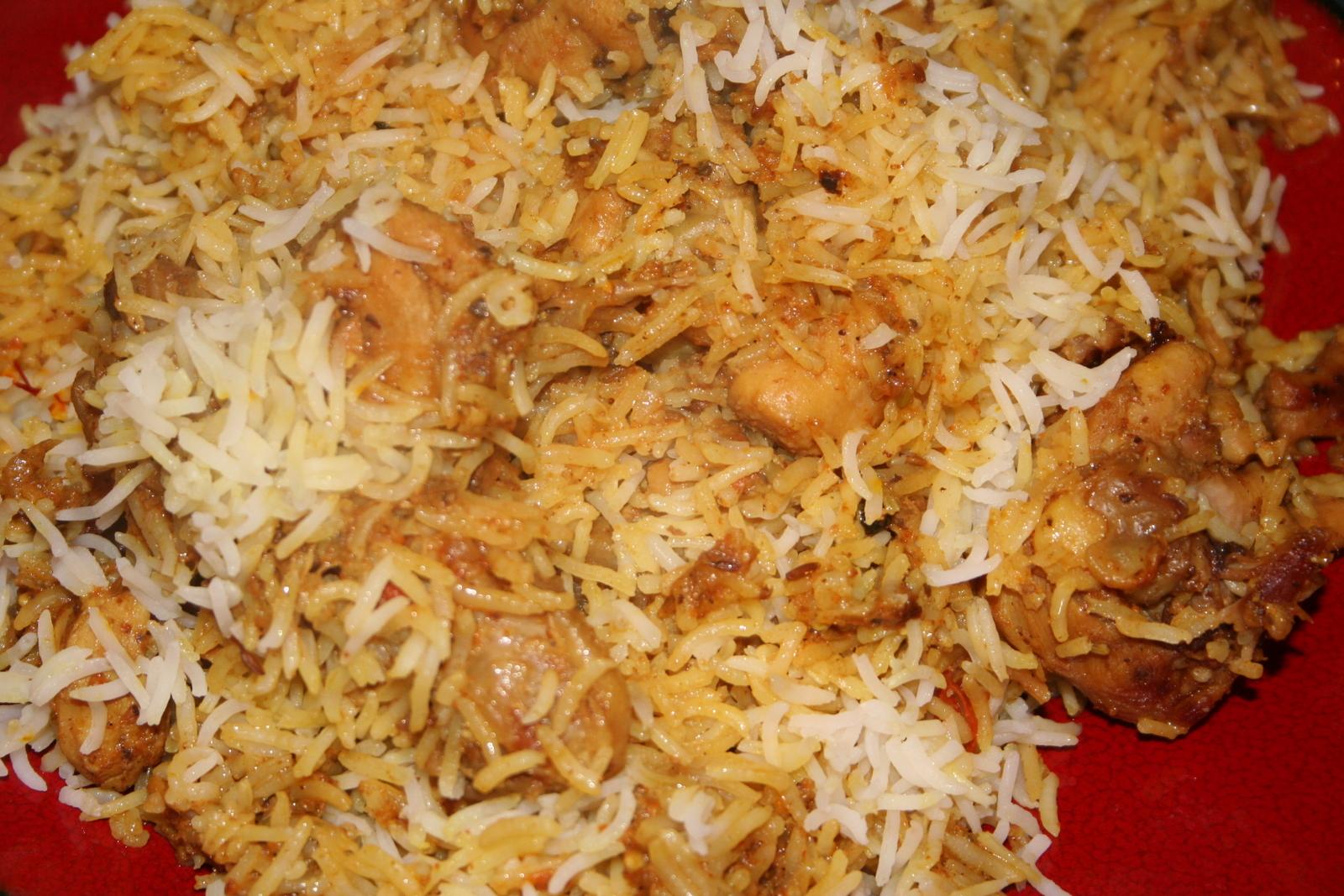 Kavita's Kitchen: Malay Chicken Biryani