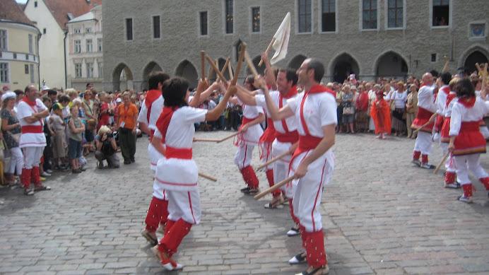 Bastoners de Malla a  Estònia.