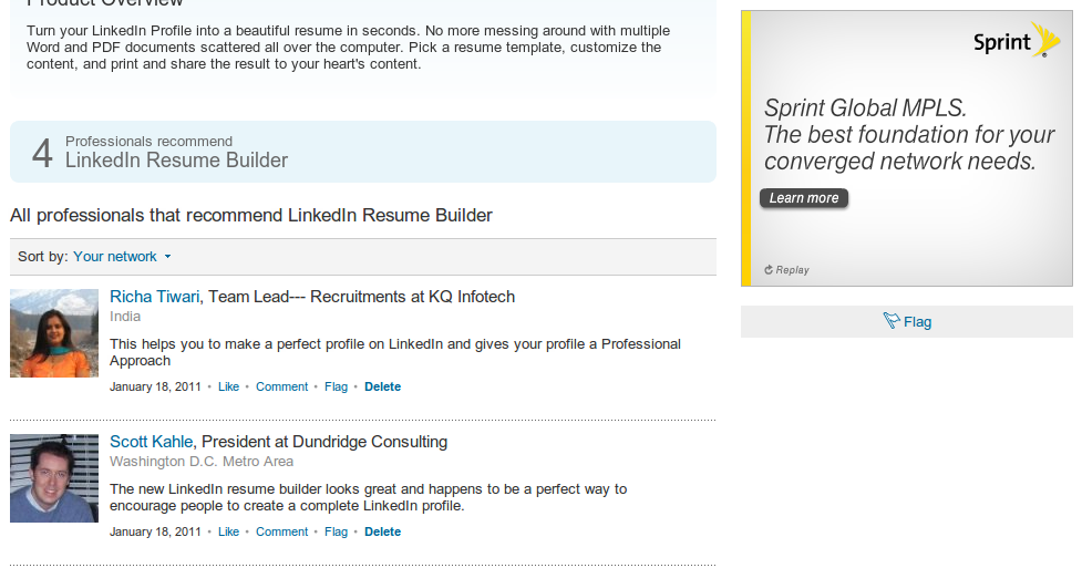 resume builder resume builder product page on linkedin - Linked In Resume Builder