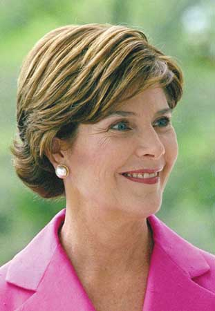 Laura Bush insulting pictures of laura bush. And what does this have in relation to ...