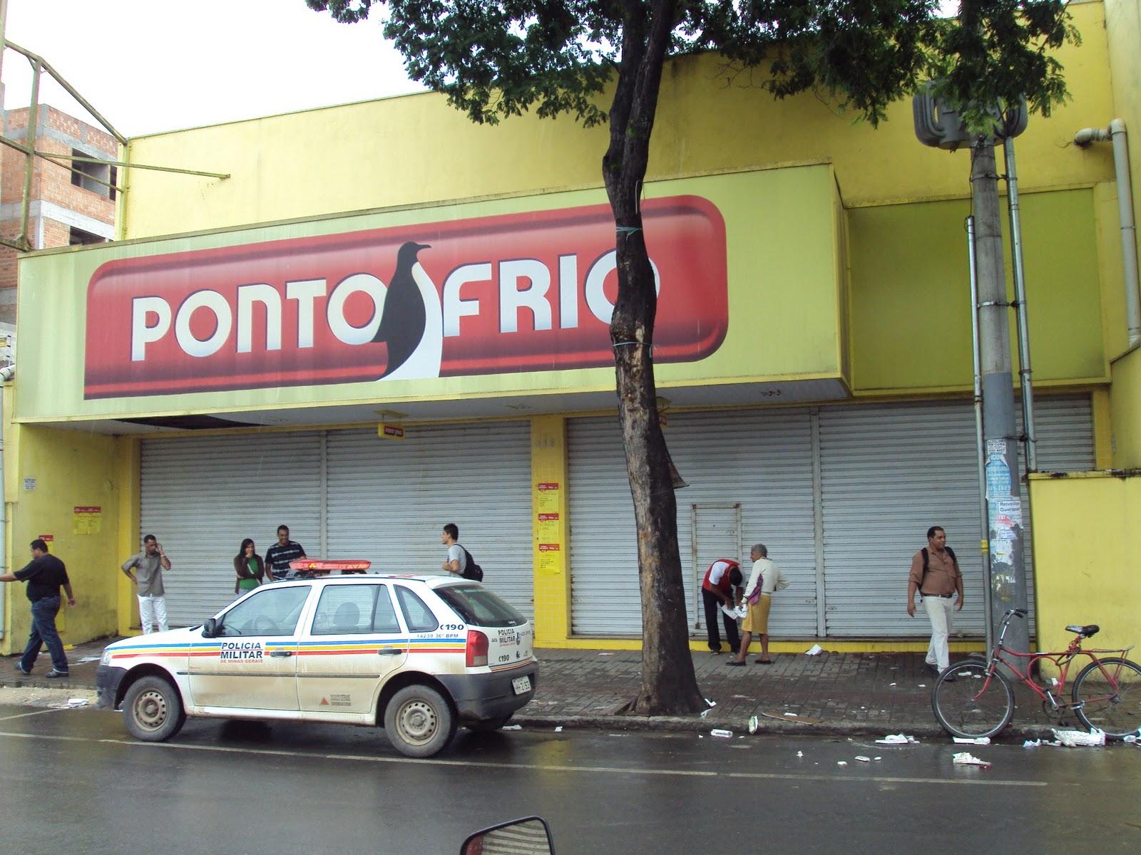 Última hora: Ponto Frio é Assaltada em Pedro Leopoldo Mix  #8C3F40 1600x1200