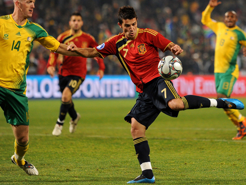 Spain -World Cup 2010: The life of a pro soccer player