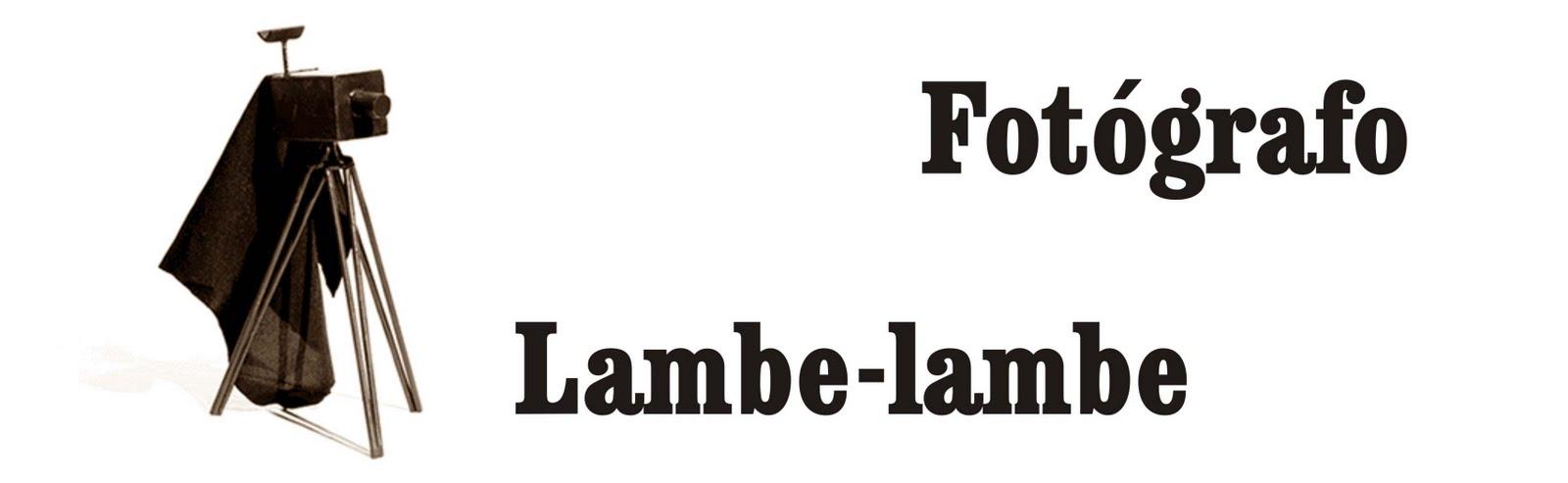 Fotógrafo Lambe-Lambe
