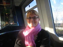 Kim on Danish Train