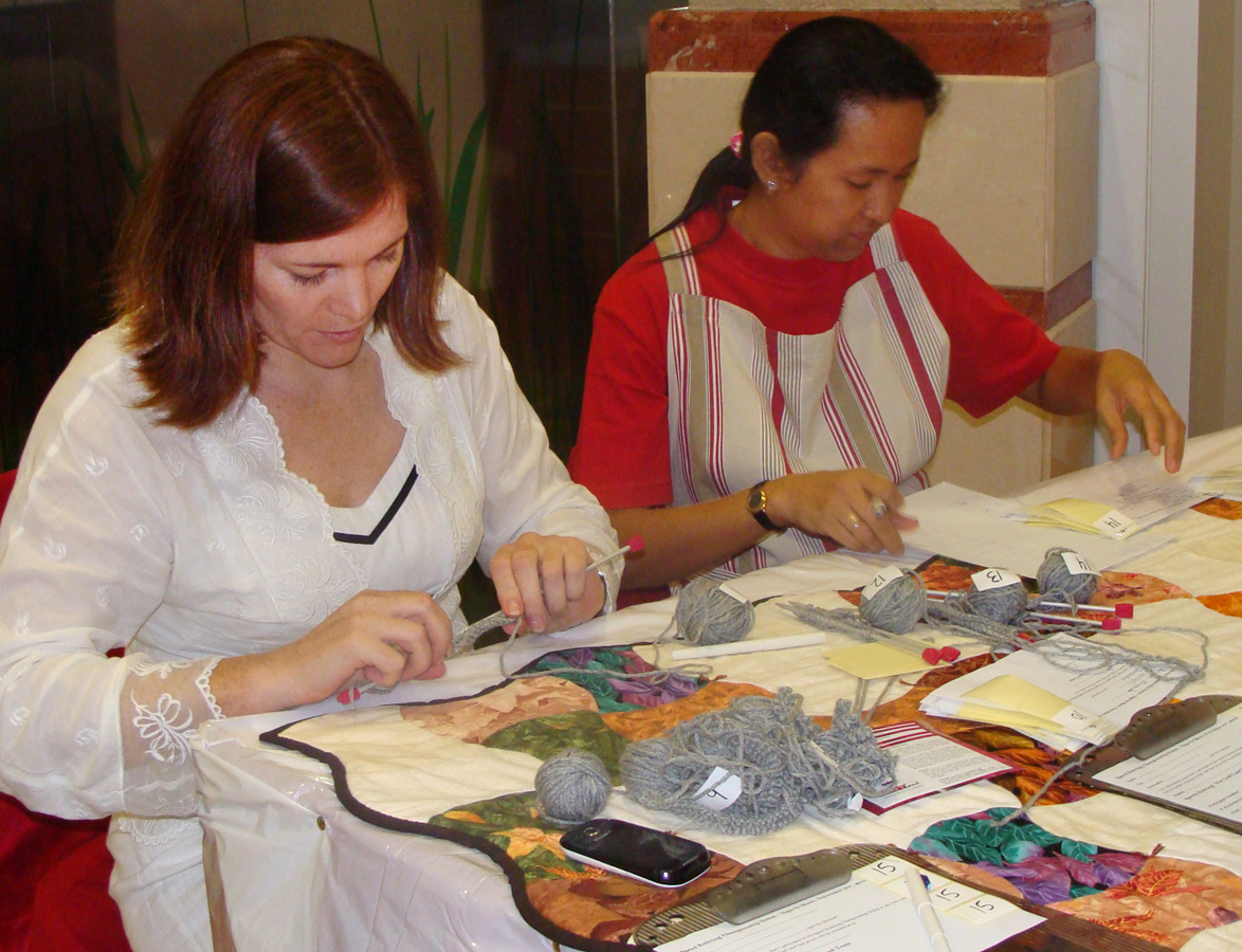 My Craft Land Diary: Speed Knitting Championship