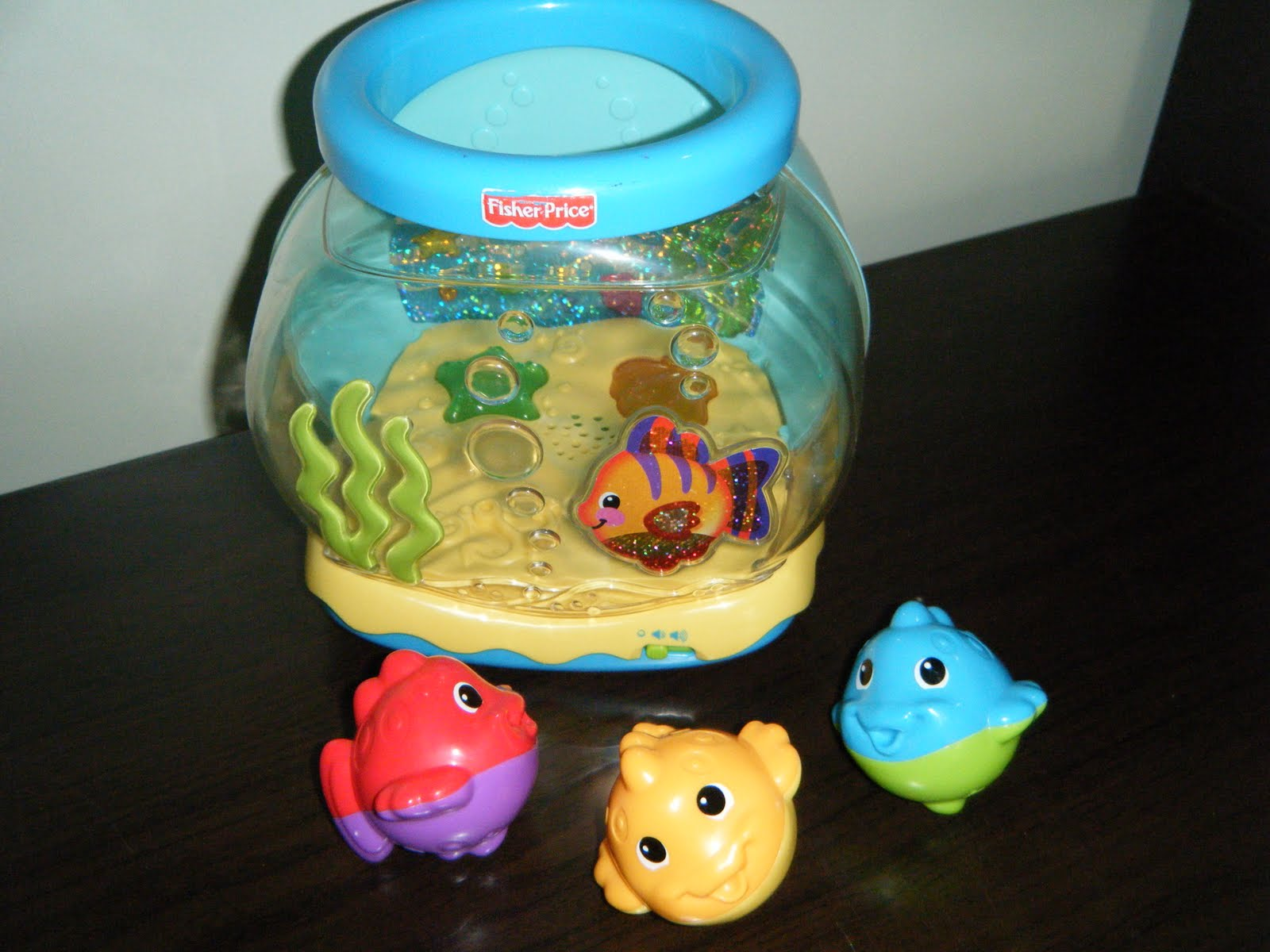 Baby Kidsmarket Fisher Price Musical Fish Bowl With 3