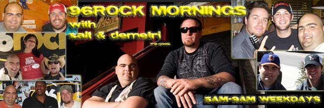 Your Wake Up Call with Salt & Demetri the Greek!