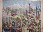 great 13 th DALAI LAMA.1910  arrivée du XIII ème DALAI LAMA en INDE