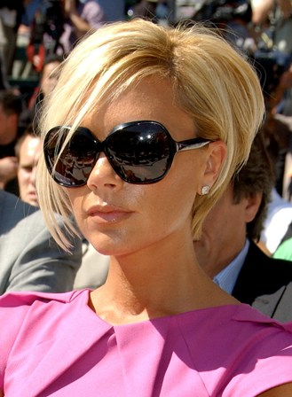 Cool Fashion Styles: victoria beckham short hair copared with long