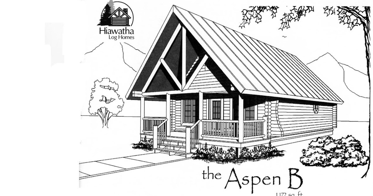Farmhouse plans cabin floor plans for Aspen homes floor plans
