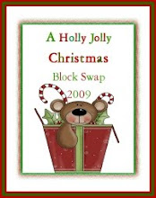 HOLLY JOLLY CHRISTMAS BLOCK SWAP