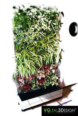 Vgtal3design un jardin vertical chez soi for Jardin japonais chez soi