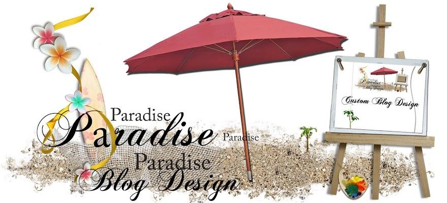 Paradise Blog Design