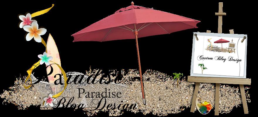 Paradise Blog Design - Blog in a Bottle