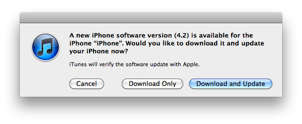 iOS 4.2.1 Released [Download With Direct Link]