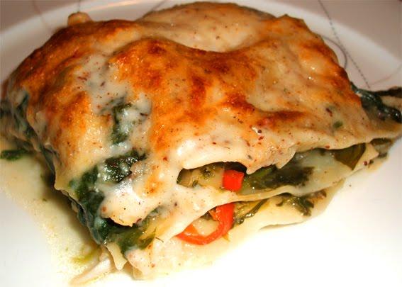 Tabernes Opskrifter Fiske Spinat Lasagne