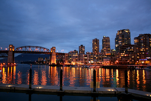 Vancouver BC - the Lights by Grantsviews