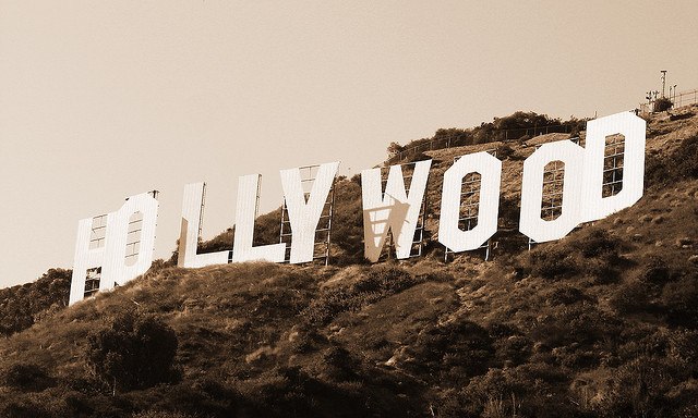 Hollywood Sign by Vlastula