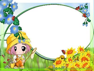 مجموعة كبيرة من بطاقات وبراويز وكروت للاطفال للكتابة بداخلها مع استخدامات كثيرة اخرى hunting+butterflies.