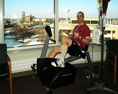 Froedtert Hospital Wisconsin Chemotherapy Family Waiting Room Exercise Bike