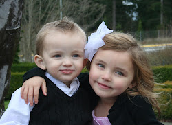 Maddox and Braelyn; my sweet babies!
