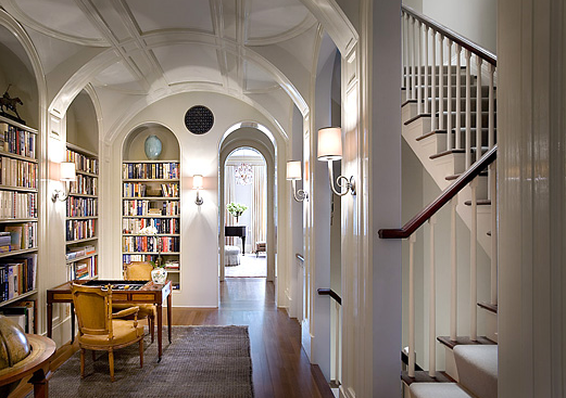 See this house overarching design in a nyc brownstone for New york brownstone interior design