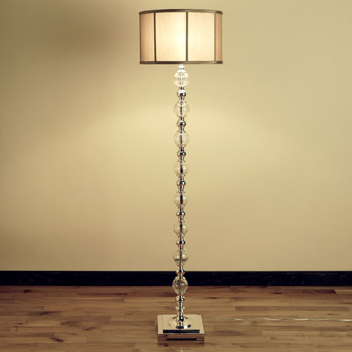 Glass Floor Lamps On Zgallerie Constaletti Floor Lamp 299 Polished Metal  And Glass