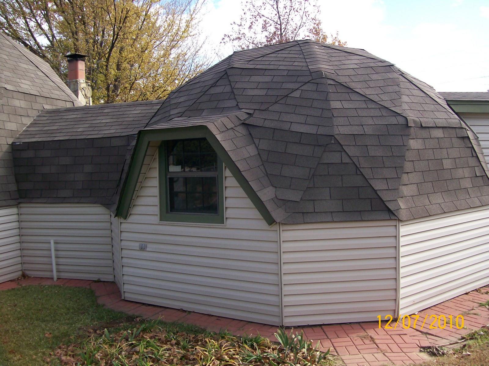 Metal Dome Garage : Dome garage