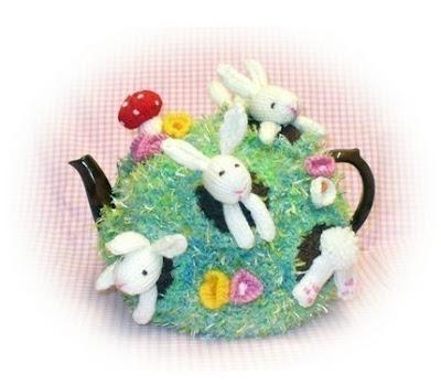 Toxiferous Designs: Pesky Rabbits Tea Cozy Pattern
