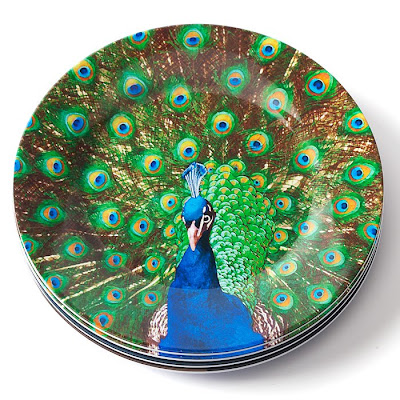 Peacock Home Decor on Are So Colorful And Beautiful I M Not Sure I Ve Ever Seen A Plate That