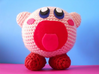 Crochet Patterns Amigurumi Monkey : Toxiferous Designs: Amigurumi Kirby