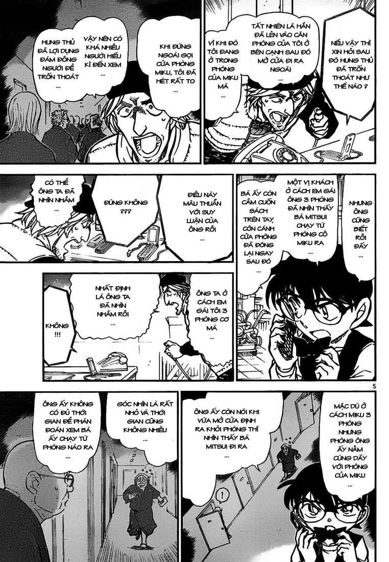 Detective Conan - Thám Tử Lừng Danh Conan chap 774 page 6 - IZTruyenTranh.com