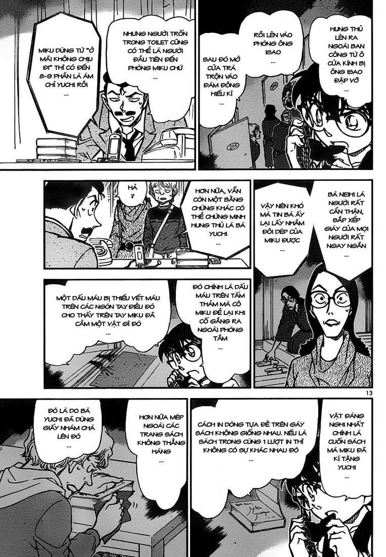 Detective Conan - Thám Tử Lừng Danh Conan chap 774 page 14 - IZTruyenTranh.com
