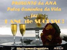 Aniversário do blogue da Ana