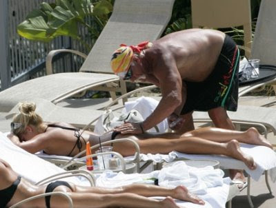 Hulk Hogan, Brooke Hogan Suntan Lotion, Like Father Like Pervert
