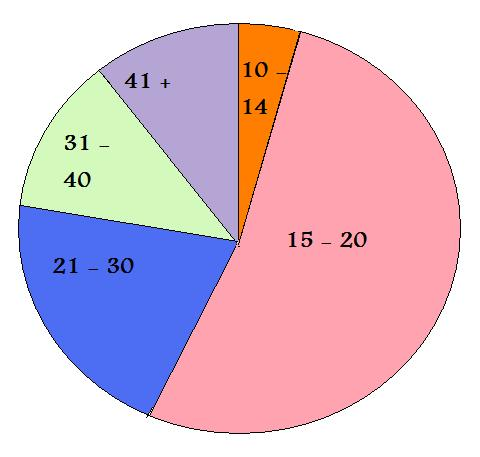 target audience clipart. target market chart. is