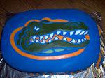 Gator fan cake