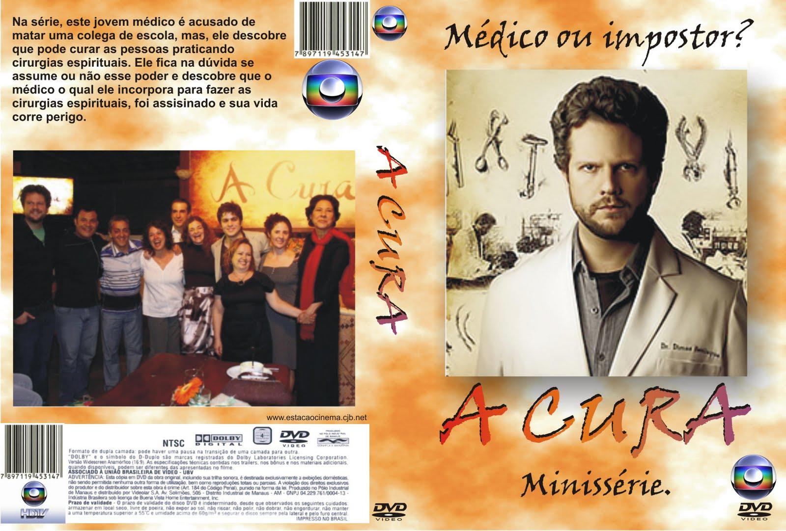 Resultado de imagem para a cura série dvd